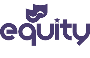 Equity Logo - as performers, Caroline and Alan are both members
